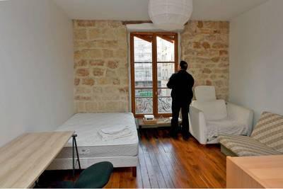 Location meublée studio 32m² Paris 14E (75014) - 1.100€