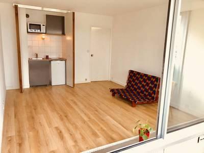 Location meublée studio 28m² Paris 14E (75014) - 993€