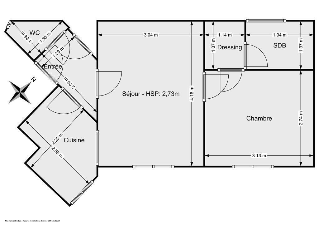 Vente Appartement Paris 14E (75014) 34m² 489.000€