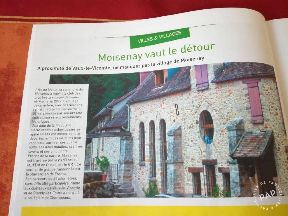 Maison 8 Km De  Melun, À Moisenay 353.000€