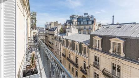 Vente appartement 2pièces 56m² Paris 16E - 910.000€