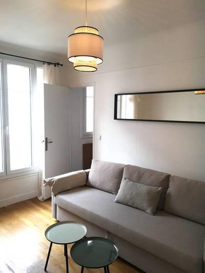 Location meublée appartement 2pièces 35m² Paris 13E (75013) - 1.238€