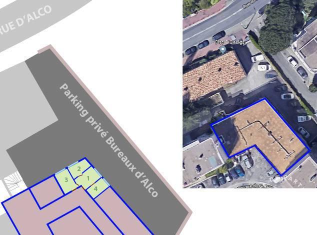Bureaux, local professionnel Montpellier (34070) 66.000€