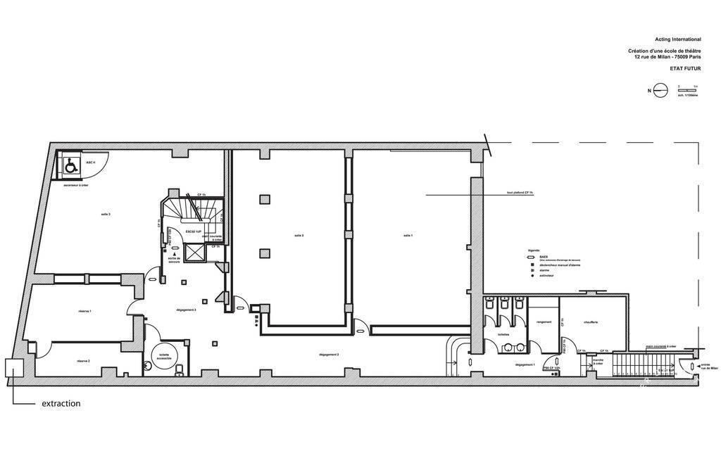Vente et location Bureaux, local professionnel 315m²