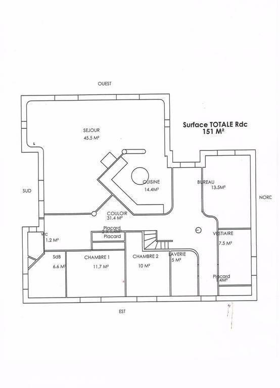 Vente Maison 4 Min Descartes, 45 Min Tours 203m² 266.000€