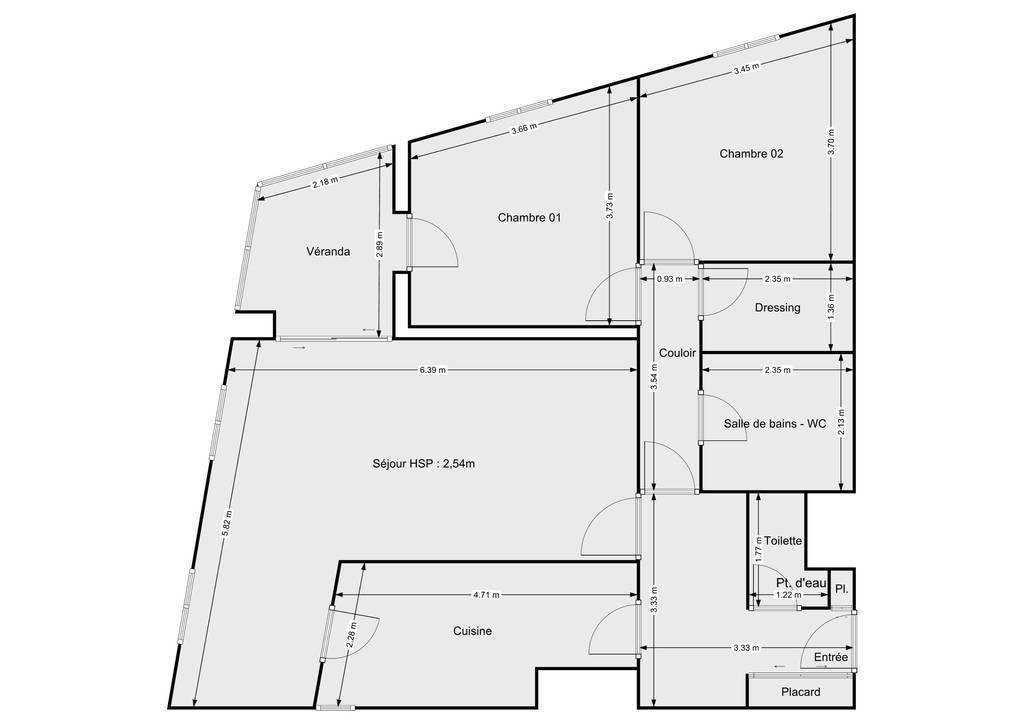 Vente Appartement Paris 13E (75013) 84m² 672.000€