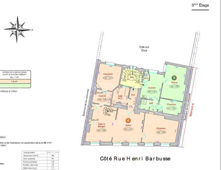 Vente Appartement Paris 5E (75005) 94m² 1.510.000€