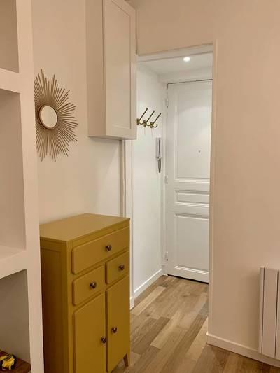Location meublée appartement 2pièces 21m² Paris 18E (75018) - 1.100€