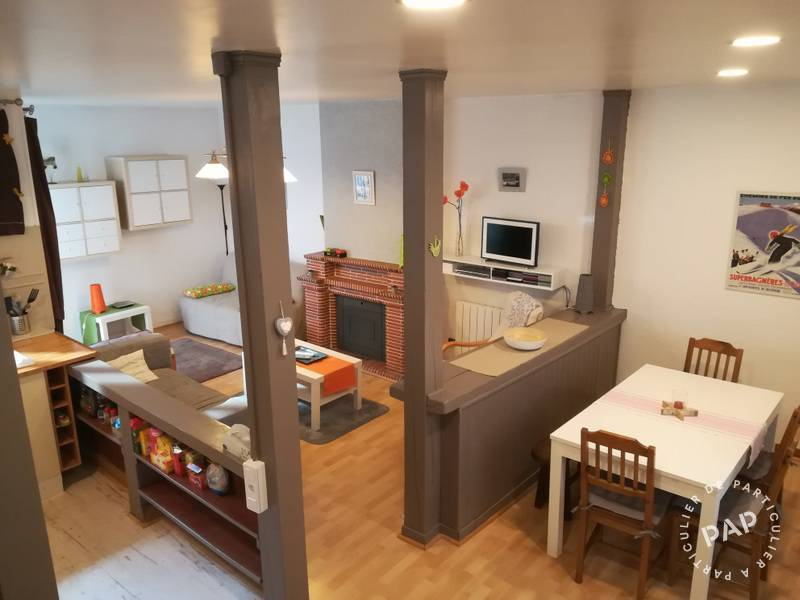 Vente Appartement Bagnères-De-Luchon (31110) 60m² 120.000€