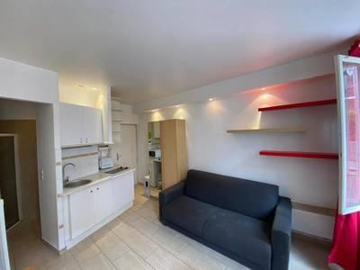 Location meublée studio 21m² Paris 20E (75020) - 725€