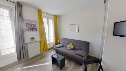 Location meublée studio 17m² Paris 15E (75015) - 970€