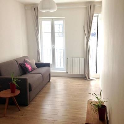 Location meublée studio 20m² Paris 1Er (75001) - 950€