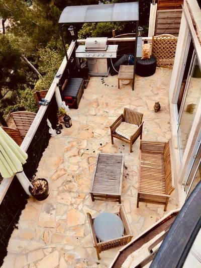 Location meublée appartement 3pièces 65m² Villefranche-Sur-Mer (06230) - 1.050€