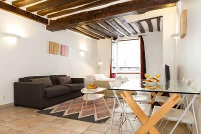 Location meublée studio 50m² Paris 1Er (75001) - 2.125€