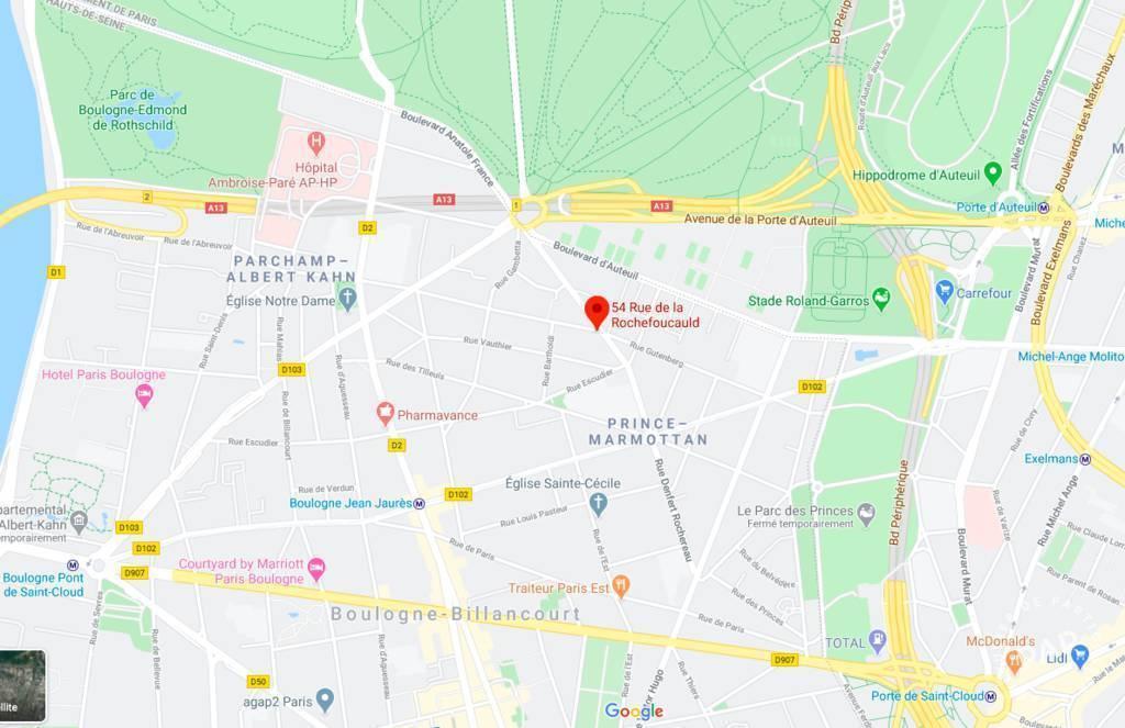 Location immobilier 140€ Boulogne-Billancourt (92100)