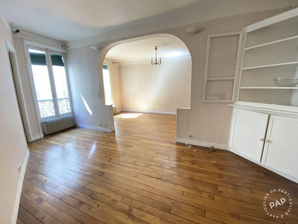 Appartement 600.000€ 57m² Paris 11E (75011)