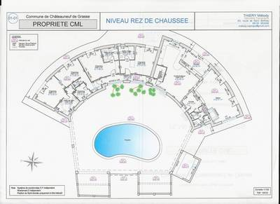 Plain Pied  Châteauneuf-Grasse (06740)