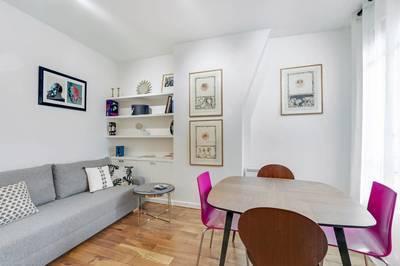 Location meublée appartement 2pièces 50m² Paris 6E (75006) - 2.200€