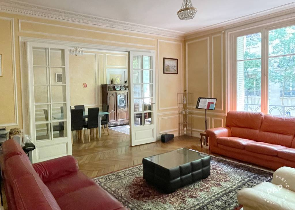 Vente appartement 7 pièces Paris 16e