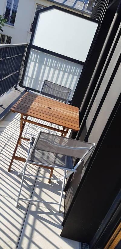 Location meublée studio 26m² Clichy (92110) - 850€