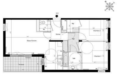 Vente appartement 3pièces 65m² Franconville (95130) - 270.000€