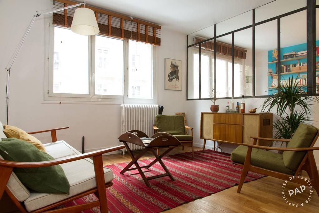 Vente appartement 3 pièces Paris 10e