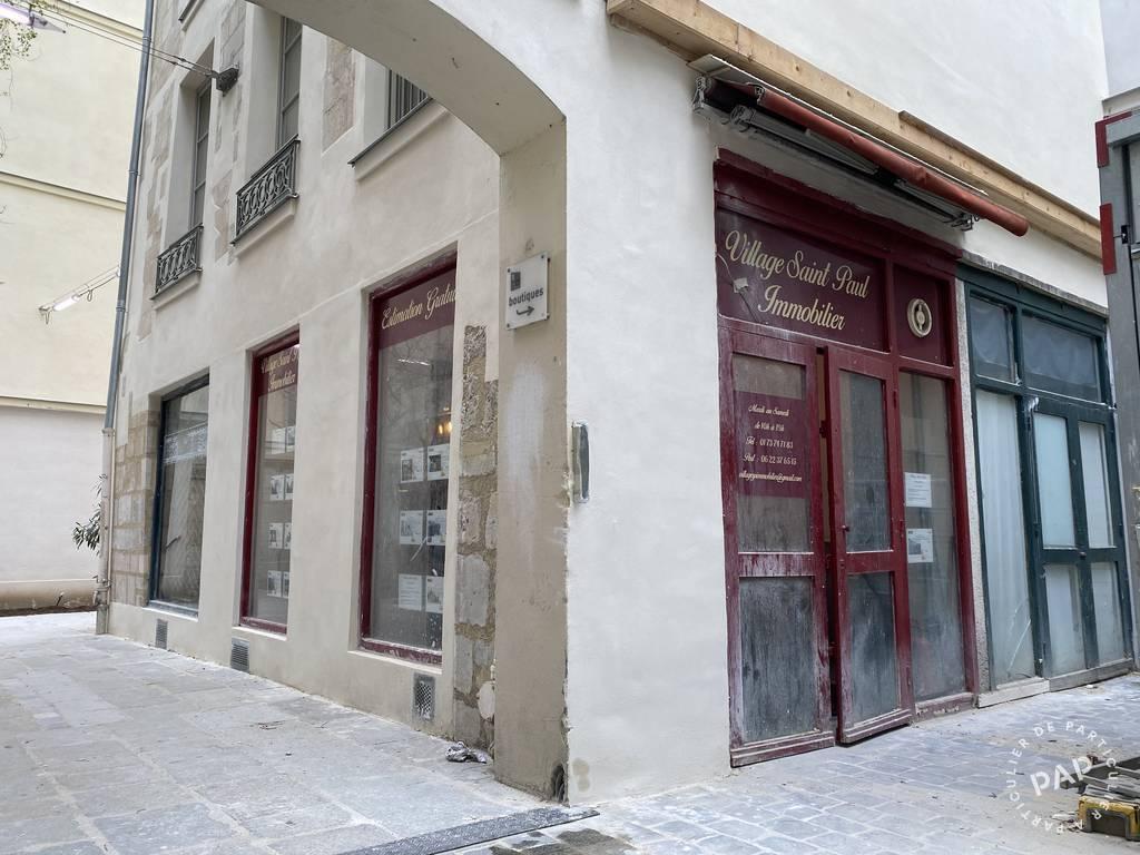 Local commercial Paris 4E (75004) 500€