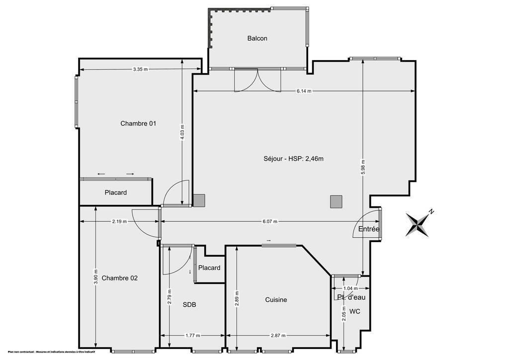 Vente Appartement A 20 Km Station Les Rousses 64m² 85.000€