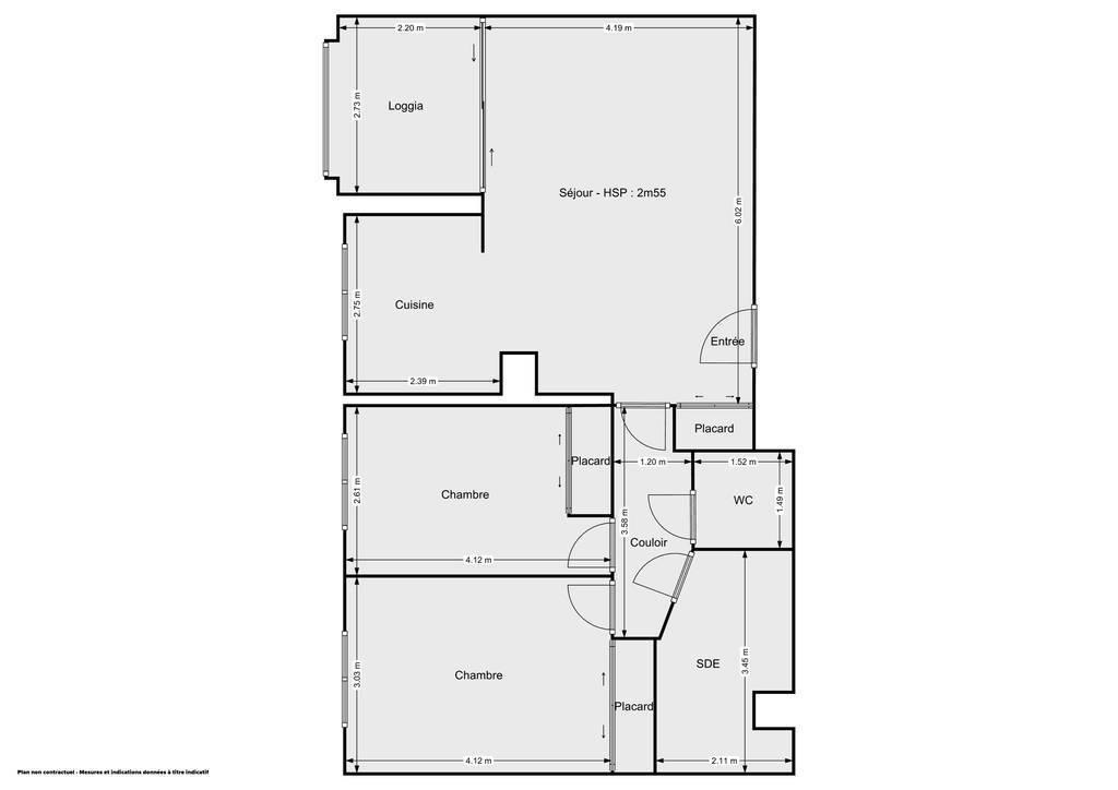 Vente Appartement Toulouse (31400) 70m² 277.000€