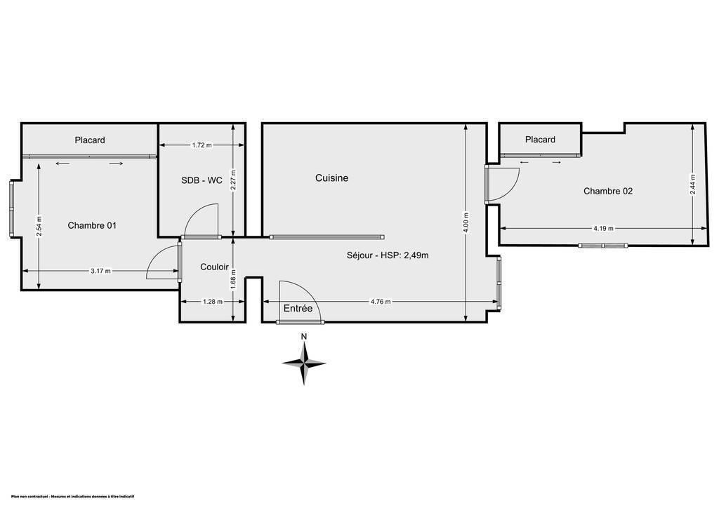 Vente Appartement Paris 18E (75018) 43m² 469.000€