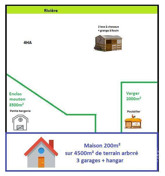 Vente maison 7 pièces La Dominelais (35390)