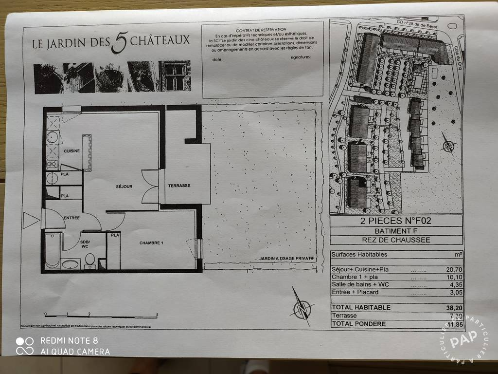 Vente immobilier 72.000€ Longages (31410)