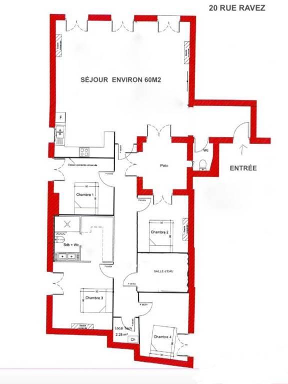 Immobilier Bordeaux 749.000€ 138m²