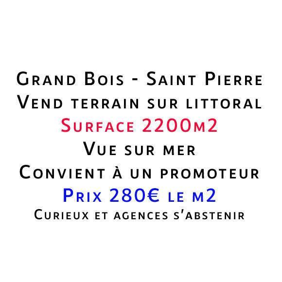 Vente Terrain Saint-Pierre (97410)  616.000€