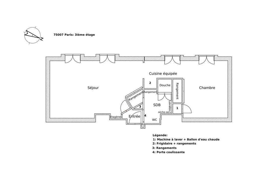 Vente Appartement Paris 7E (75007) 44m² 660.000€