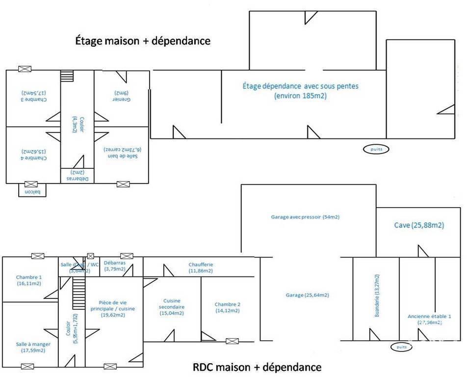Vente immobilier 150.000€ Lye (36600)