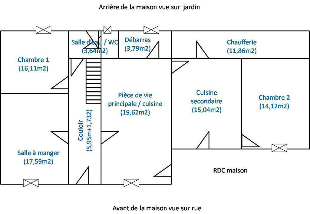 Maison Lye (36600) 150.000€