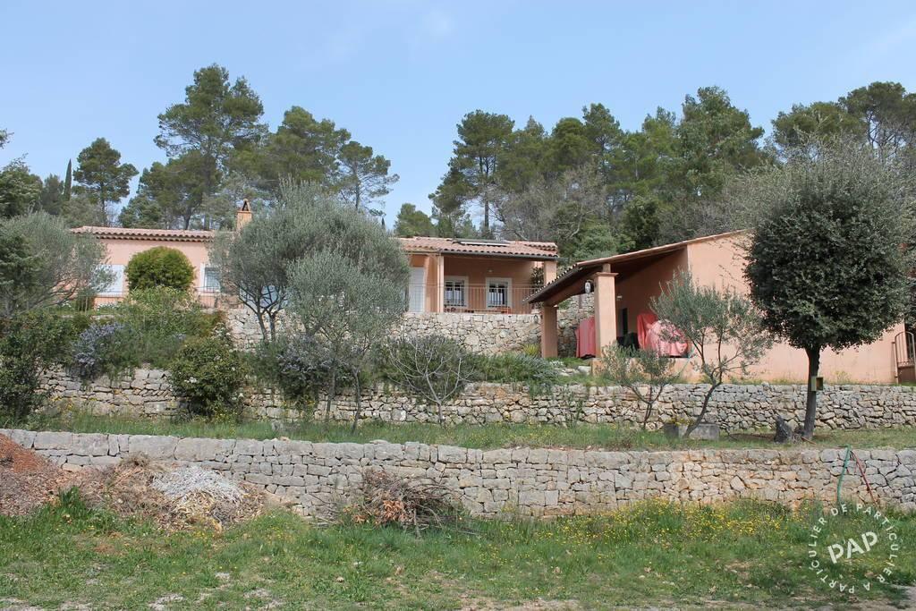 Vente Maison Entrecasteaux (83570) 139m² 529.000€