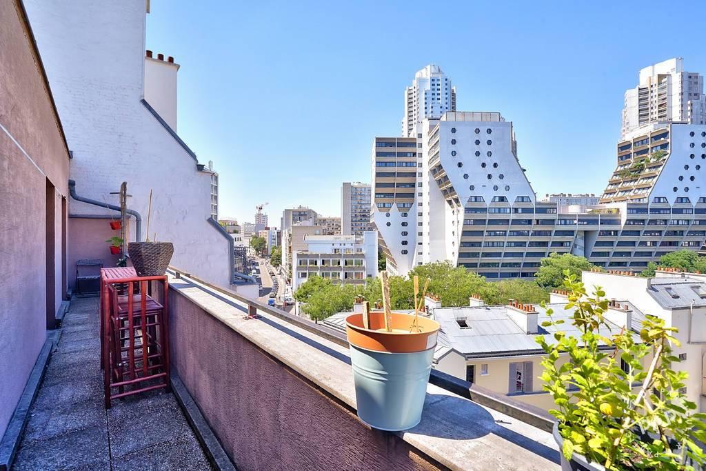 Vente appartement 7 pièces Paris 19e