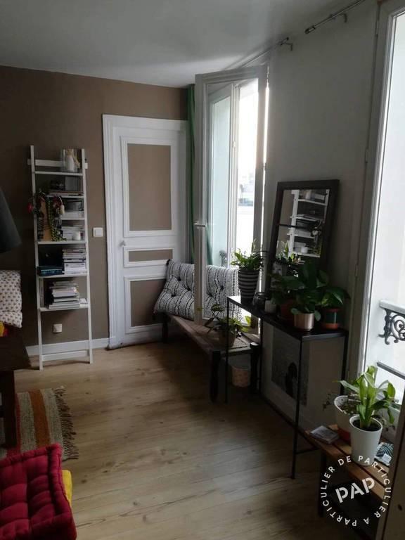 Vente appartement 2 pièces Paris 10e