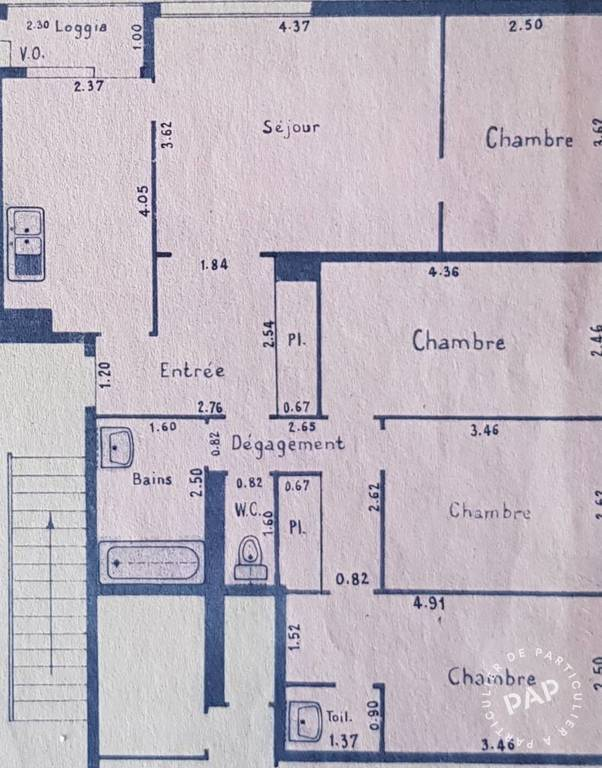Vente appartement 5 pièces Neuilly-sur-Marne (93330)