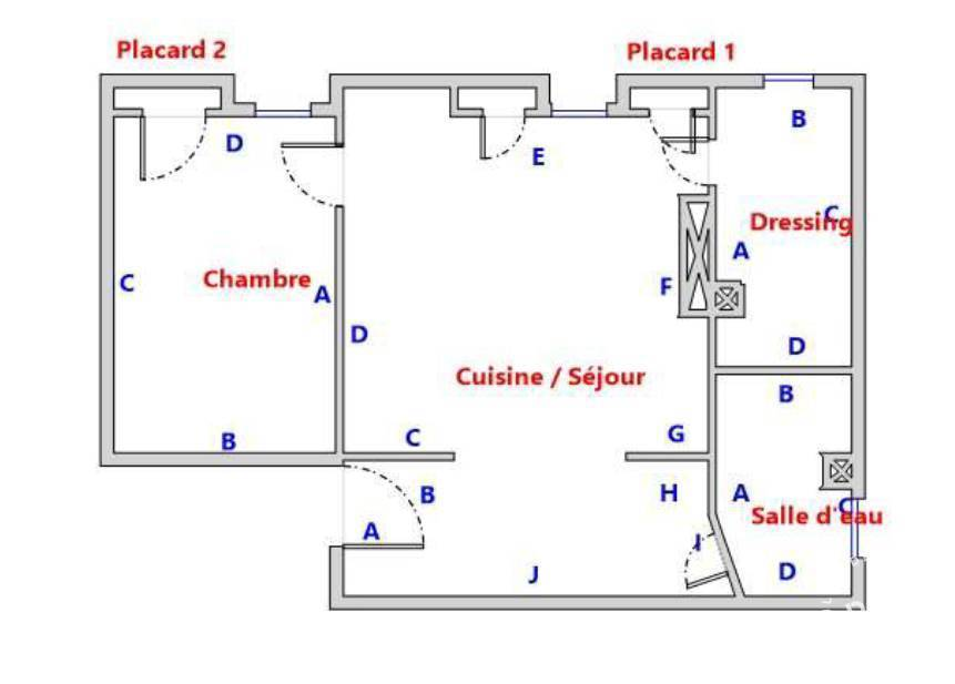 Immobilier Paris 8E (75008) 475.000€ 36m²