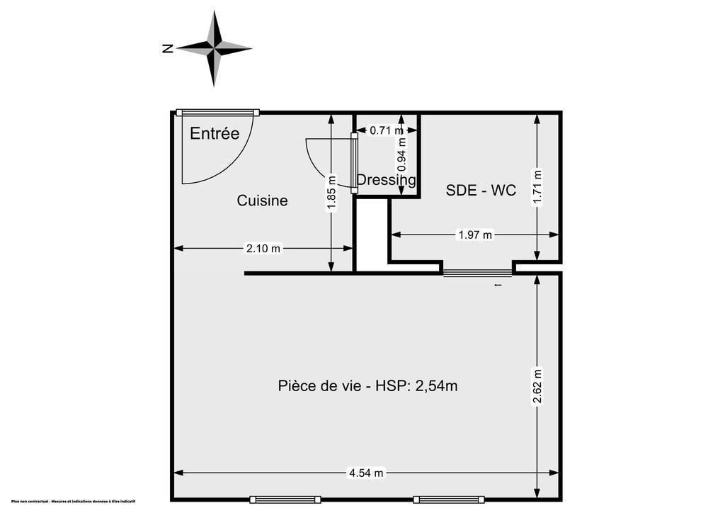 Vente Appartement Arras (62000) 19m² 49.000€
