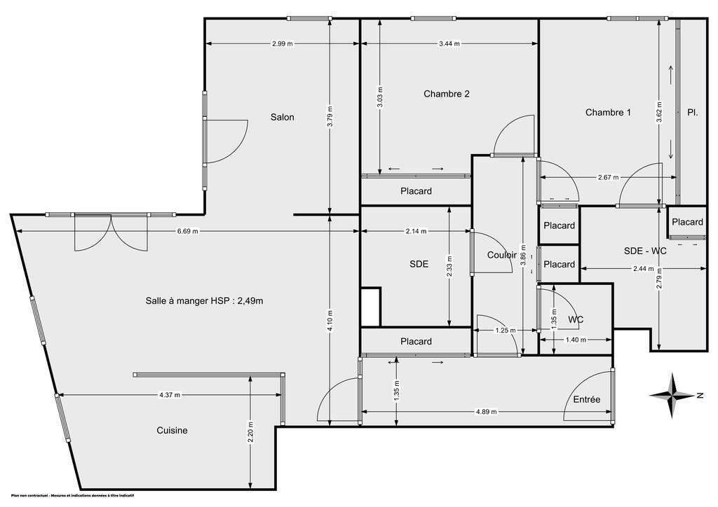 Vente Appartement Nogent-Sur-Marne (94130) 87m² 655.000€