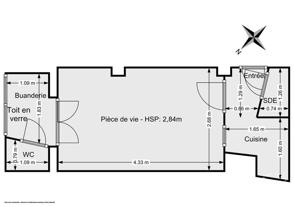 Vente Appartement Paris 3E (75003) 18m² 265.000€
