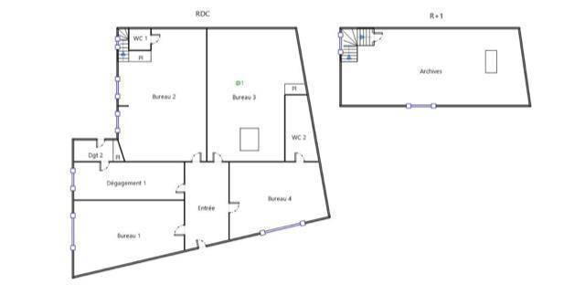 Vente et location Bureaux, local professionnel 107m²