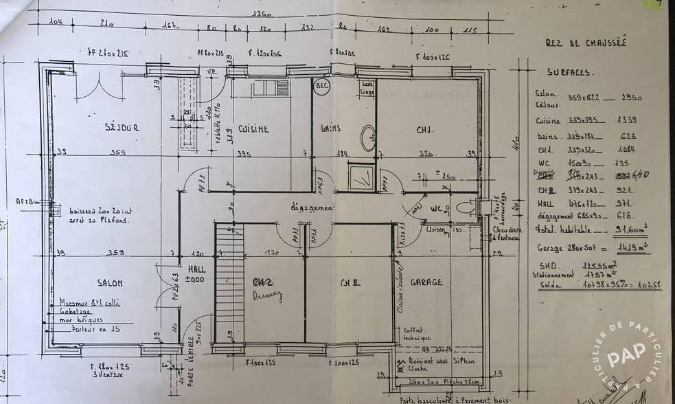 Vente Maison 128m²