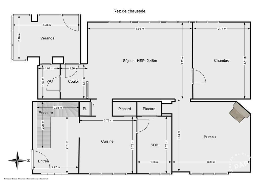 Vente Maison Vierzon (18100) 80m² 95.000€
