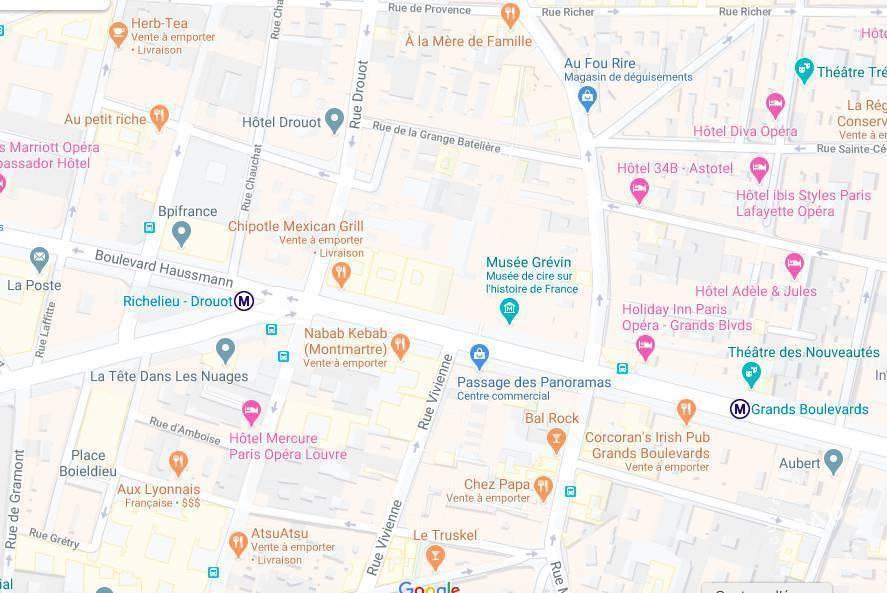 Vente et location Fonds de commerce Paris 2E (75002)