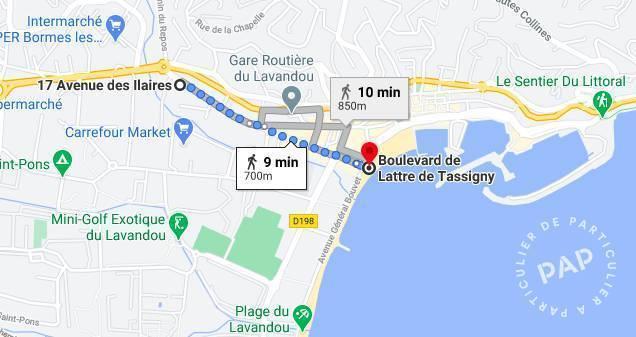 Immobilier Le Lavandou (83980) 140.000€ 54m²